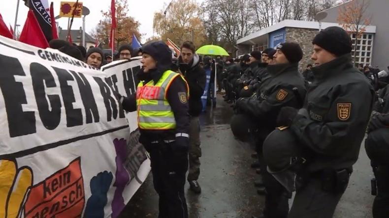Live: Tausende zu Protesten gegen AfD-Neujahrsempfang in Münster erwartet