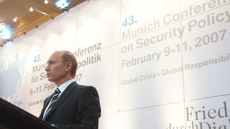 Rückblick auf Münchner Sicherheitskonferenz: 10 Jahre nach Putins Kultrede