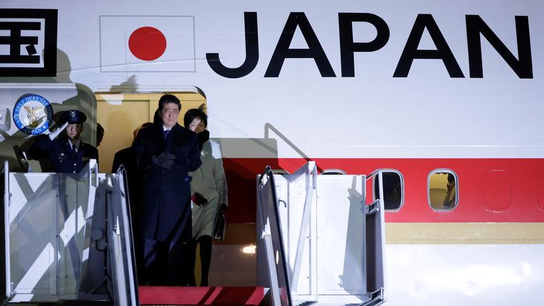 Staatsbesuch: Shinzō Abe will in Washington Differenzen mit Trump ausräumen