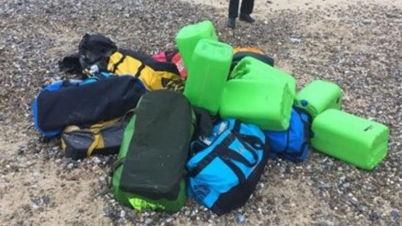 Säcke mit 360 Kilo Kokain an britischer Küste angeschwemmt