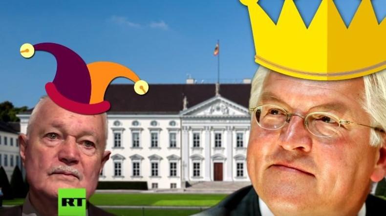 Endlich eine Alternative: Sonneborn macht Steinmeier das Amt des Bundespräsidenten streitig