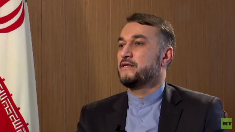 RT Exklusiv: Wie der Iran die Welt sieht - Interview mit Amir-Abdollahian