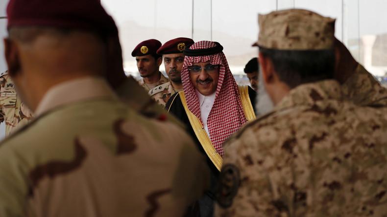 CIA-Direktor zeichnet saudischen Prinzen Ibn Naif für Verdienste bei Terrorbekämpfung aus