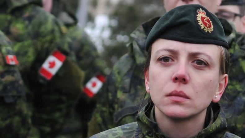 Kanadische Experten trimmen ukrainische Soldaten in NATO-Ausbildungsprogrammen