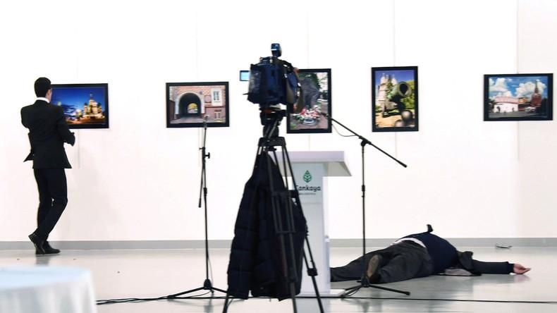 Bild von Mord an russischem Botschafter in Ankara gewinnt World-Press-Photo-Wettbewerb