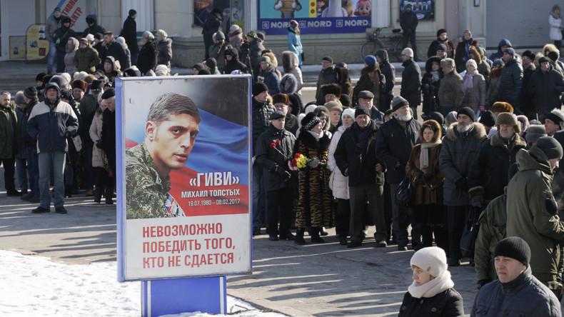 Fake News über Verrat in eigenen Reihen: Fauler Gestank um Donezk-Held Giwi