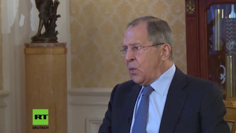 Lawrow: Ich hoffe, dass mit der neuen US-Regierung ein vernünftiger Ukraine-Dialog möglich ist