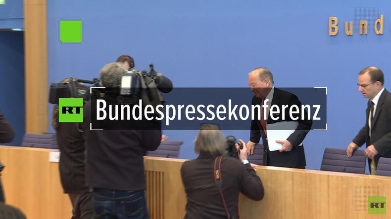 """Ischinger bei Bundespressekonferenz: """"Der Westen hat sich in Syrien selbst ins Knie geschossen"""""""