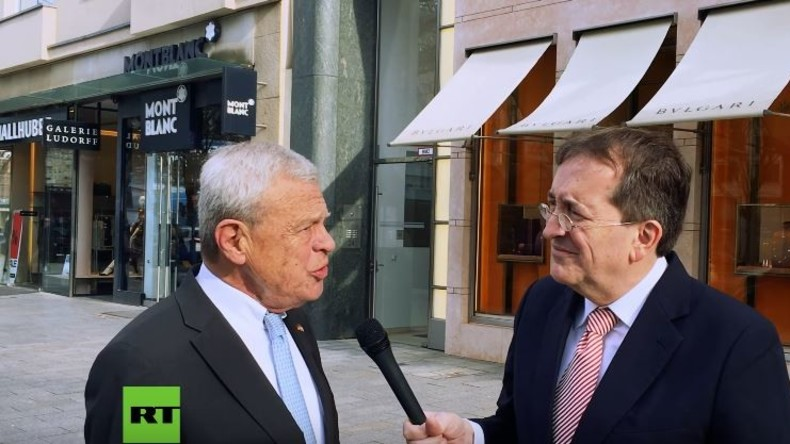 """Gerd Kichniawy: """"Russland-Sanktionen schaden nur einem Land in der Welt, Deutschland"""""""