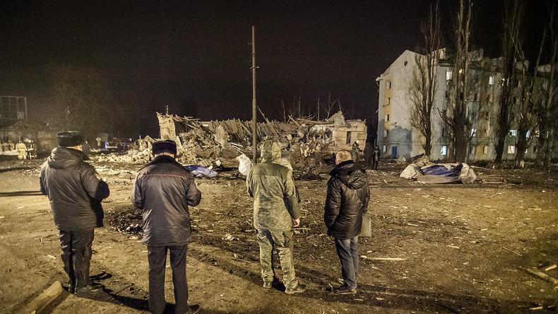 Ukraine wählt Eskalation und setzt Massenvernichtungswaffen gegen Zivilbevölkerung im Donbass ein