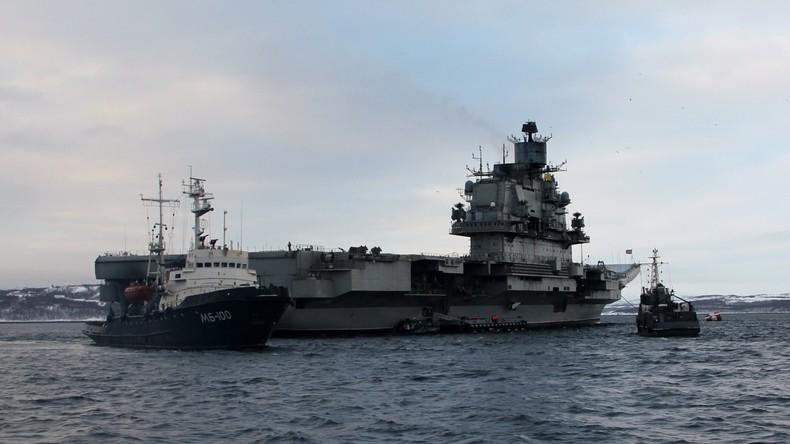 Über 50 NATO-Schiffe begleiteten Flugzeugträger Admiral Kusnezow