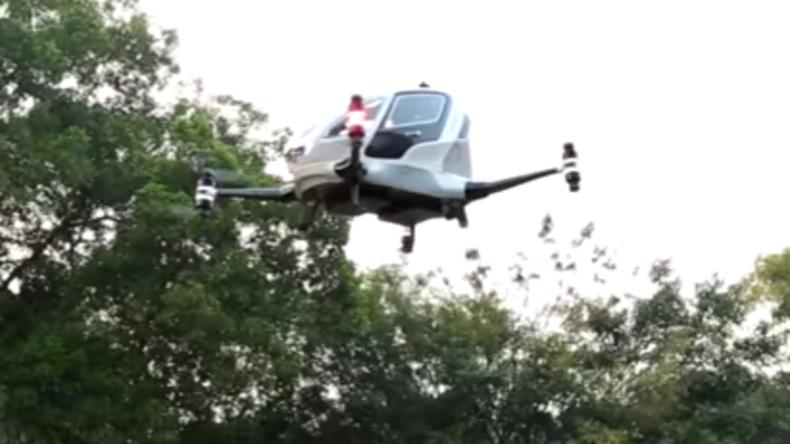 Die Zukunft ist schon da: Dubai testet Taxi-Drohnen für den Einsatz ab Juli 2017