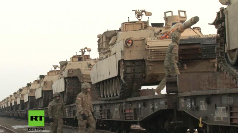 """""""Atlantic Resolve"""": US-Panzer und gepanzerte Fahrzeuge erreichen Rumänien"""