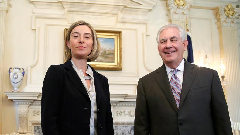 EU-Vertreterin für Außen- und Sicherheitspolitik: USA werden unter Trump zur Gefahr für die Welt