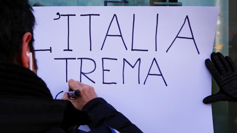 Verluste durch Erdbeben in Italien 2016 auf 23,5 Milliarden Euro berechnet