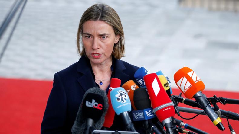 """Federica Mogherini: """"Ich habe USA noch nie so polarisiert gesehen"""""""