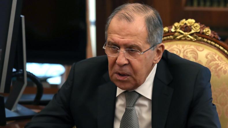 Sergei Lawrow: Russland mischt sich nicht in innere Angelegenheiten anderer Länder ein