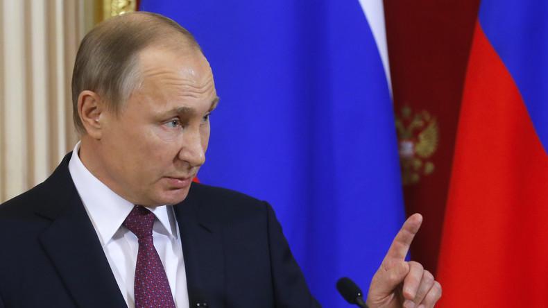 Putin: Nato mischt sich in russische Angelegenheiten ein und setzt weiter auf Konfrontation
