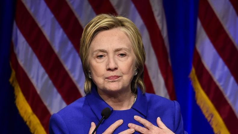 """Hillary Clinton wird zur """"internen Bedrohung"""" für US-Sicherheit erklärt"""