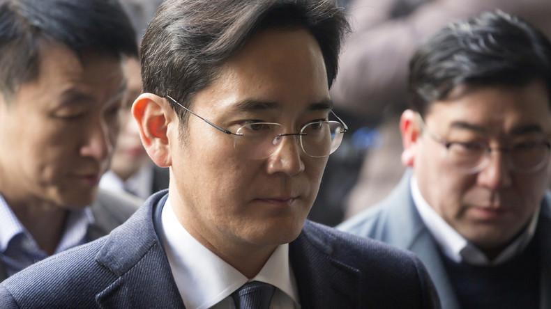 Samsung-Chef Lee wegen Bestechung verhaftet