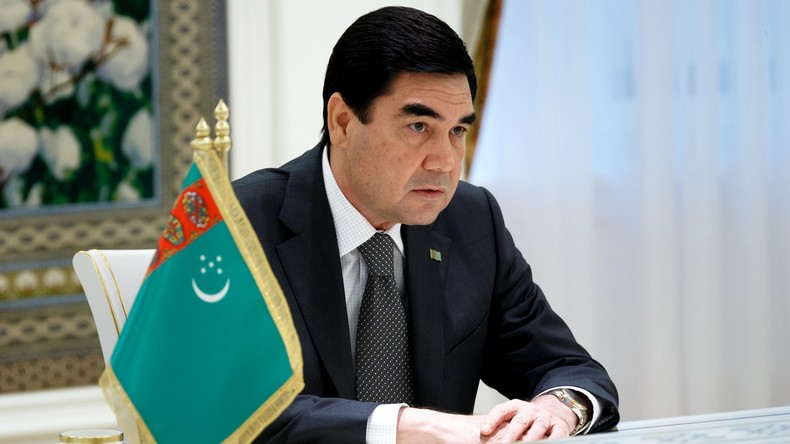 Gurbanguly Berdymuhammedow legt zum dritten Mal Amtseid als Turkmenistans Präsident ab