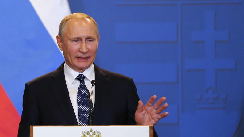 Putin: Die NATO versucht permanent Russland in eine Konfrontation zu ziehen