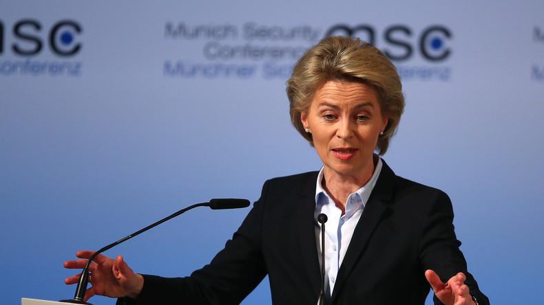 """Von der Leyens Rede bei der Münchner Sicherheitskonferenz: """"Wir stehen hier als Transatlantiker"""""""