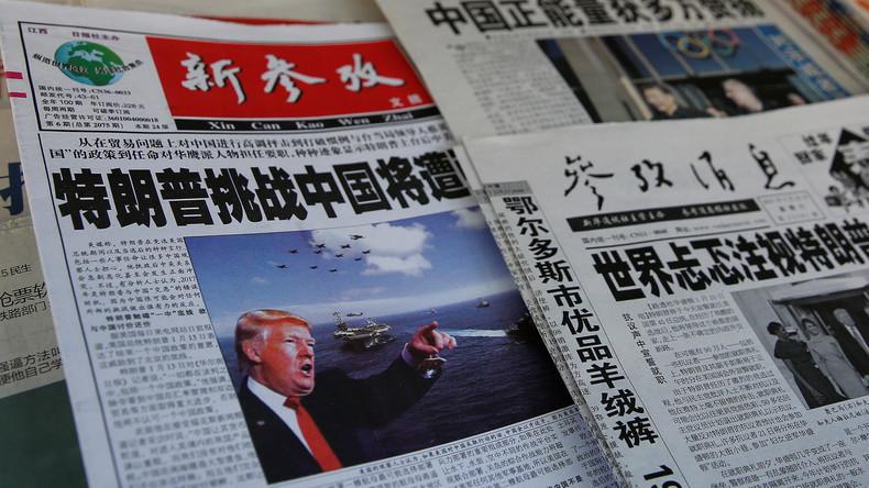 Chinesische Firmen nennen sich nach Trump