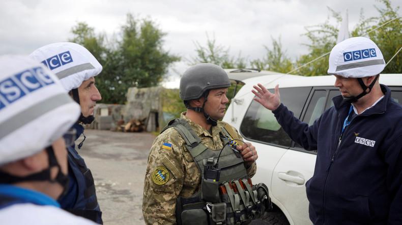 Einwohner des Donbass fordern von OSZE: Erzählt die Wahrheit oder kehrt heim!