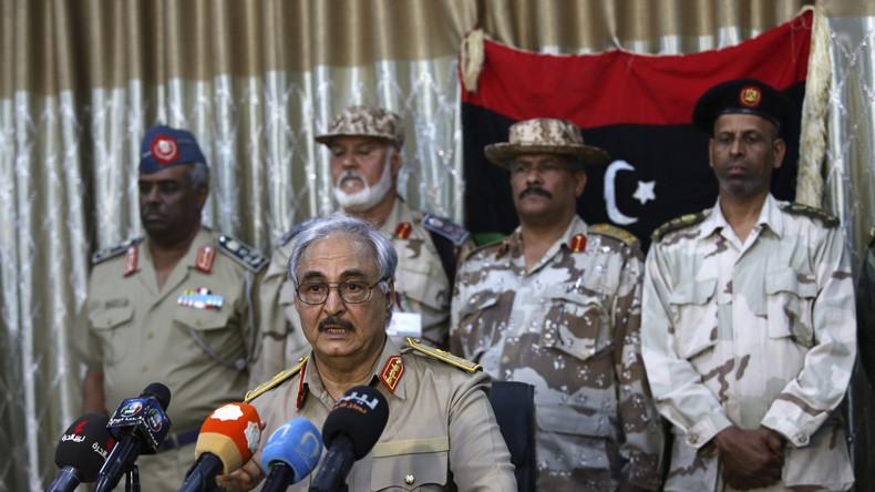Libysche Zuneigung: Haftar könnte von Verständigung zwischen Westen und Russland profitieren