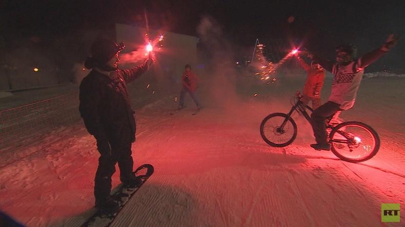 Einmal in Russland: Moskaus Wintersportparadies