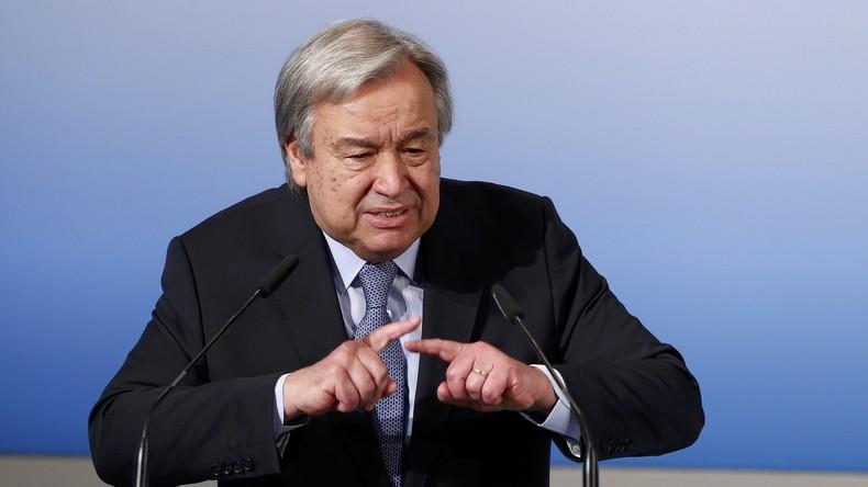 UN-Generalsekretär Guterres sieht keine schnelle Lösung der Syrien-Krise