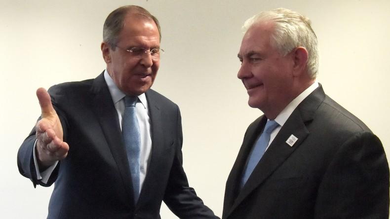 Russisches Außenministerium: Verhandlungen zwischen Lawrow und Tillerson waren fruchtbar