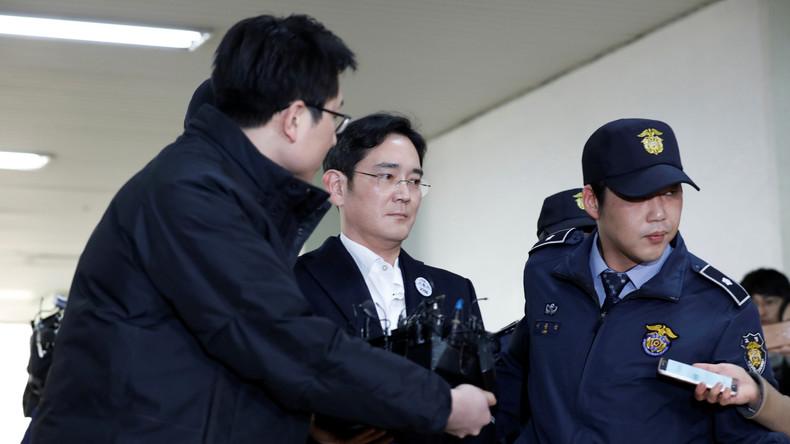 Südkorea: Samsung-Erbe Jay Y. Lee in Haft - Justiz könnte gegen weitere Familienkonzerne ermitteln