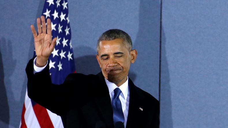 Barack Obama landet auf Platz 12 im Ranking der US-Präsidenten