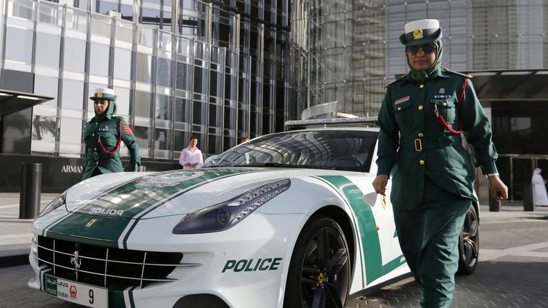 Russin verspricht Dubaier Polizei, ihr Leben nicht mehr aufs Spiel zu setzen