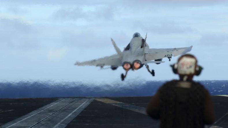 Die USA schicken einen Kriegsschiffverband ins Südchinesische Meer