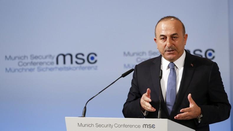 Türkei braucht Unterstützung Russlands und Irans zur Lösung der Syrien-Krise