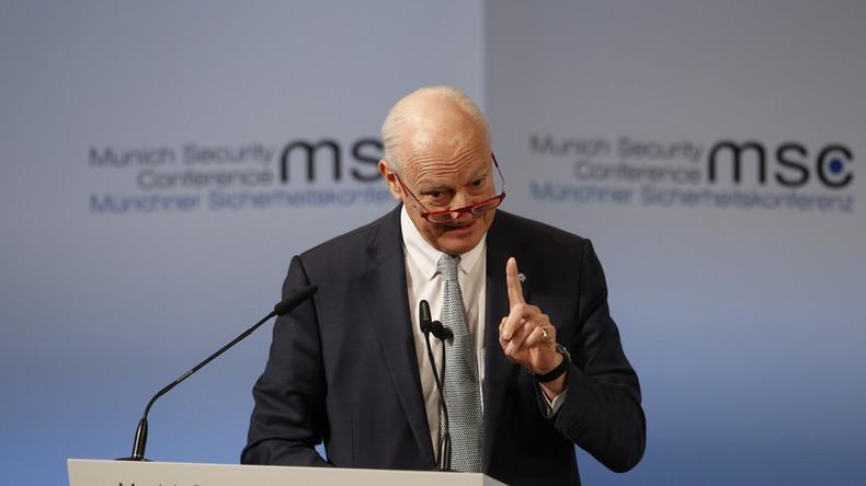 UN-Sondergesandter für Syrien: Russisch-türkische Friedensvermittlung ist erfolgversprechend