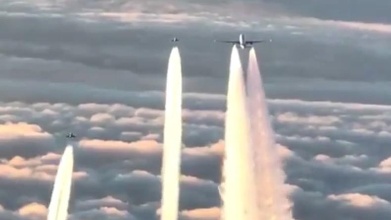 Deutsche Kampfjets fangen indische Boeing ab