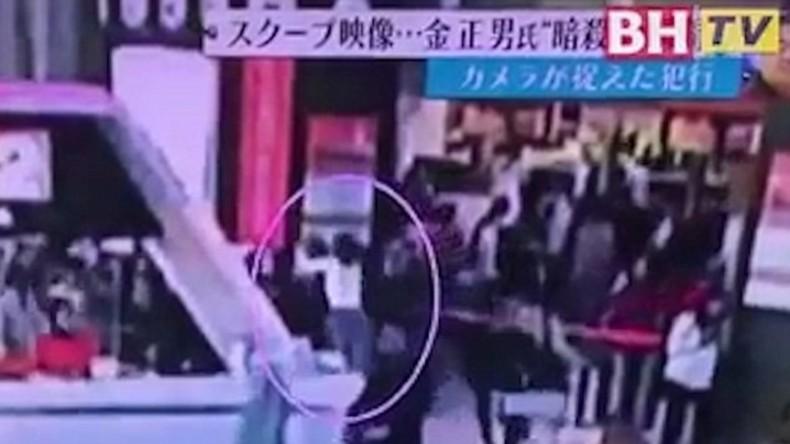Video des Angriffs auf Kim Jong Nam im Netz veröffentlicht