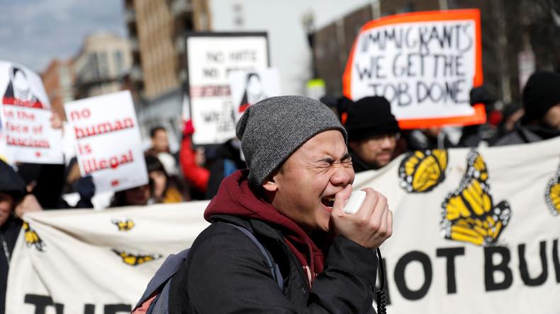 """Dutzende Einwanderer streiken in den USA am """"Tag ohne Migranten"""" und verlieren ihre Jobs"""