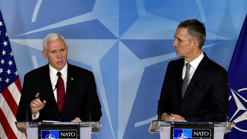 US-Vizepräsident Pence fordert von europäischen NATO-Verbündeten höhere Verteidigungsausgaben