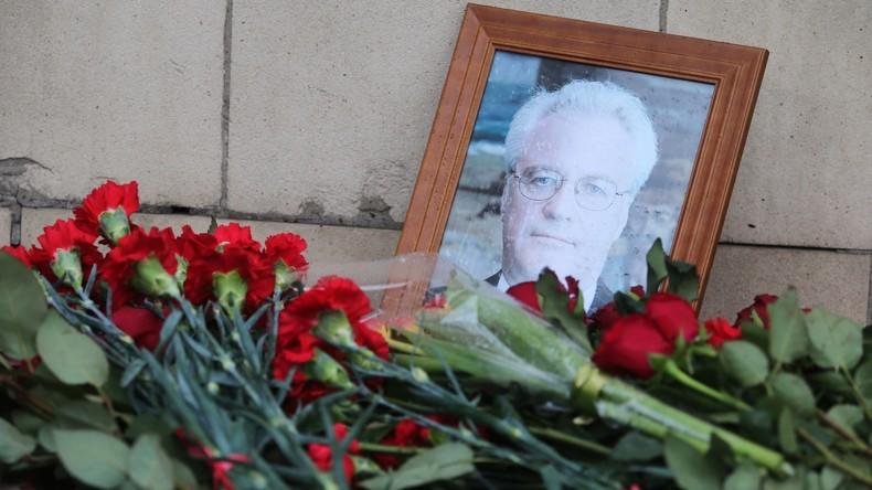 Ukraine blockiert Resolution des UN-Sicherheitsrates für verstorbenen UN-Botschafter Russlands