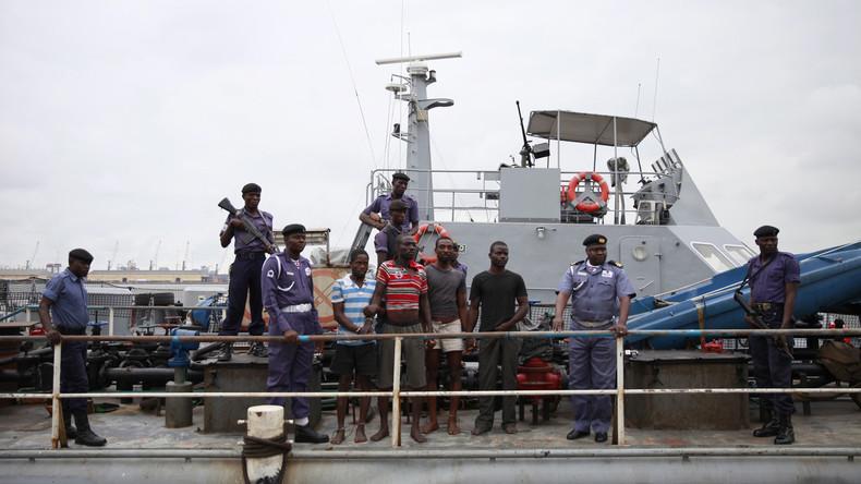 Nach Piratenangriff auf Schiff in Nigeria: Drei russische Seemänner heimgekehrt