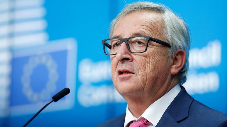 EU-Kommissionspräsident Juncker: Trumps Präsidentschaft ist eine der drei Hauptprobleme Europas