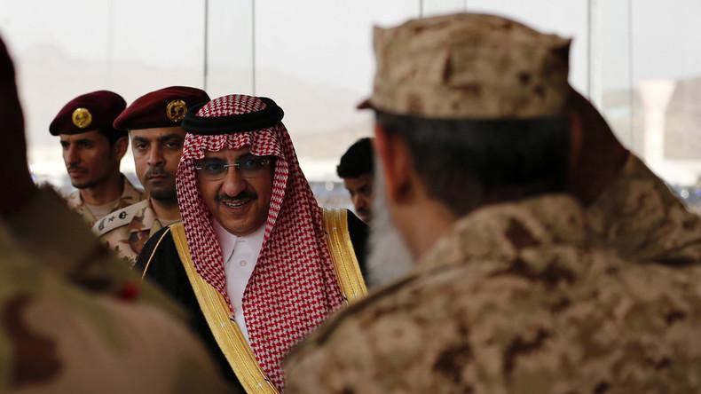Saudischer Kronprinz erhält CIA-Medaille für angeblichen Kampf gegen den Terror