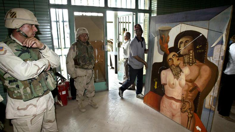 Letzte Rettung oder Wiedergutmachung? Briten trainieren Iraker für die Rettung ihrer Kulturschätze