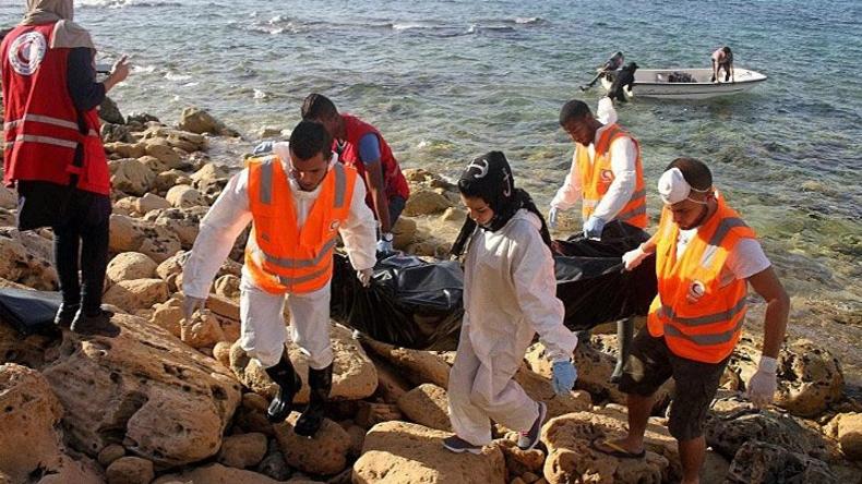 Leichen von 74 Flüchtlingen an libyscher Küste angeschwemmt