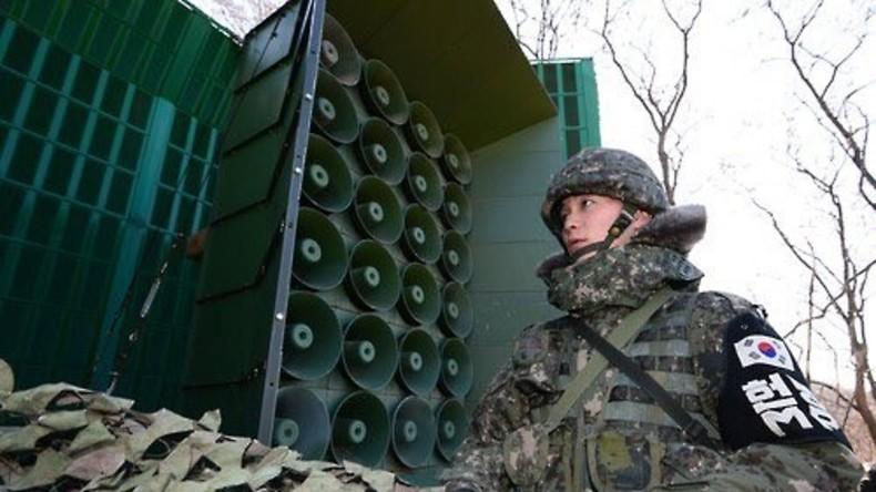 Seoul beschuldigt Kim Jong-un des Mordes am Halbbruder per Lautsprecher an Grenze zu Nordkorea